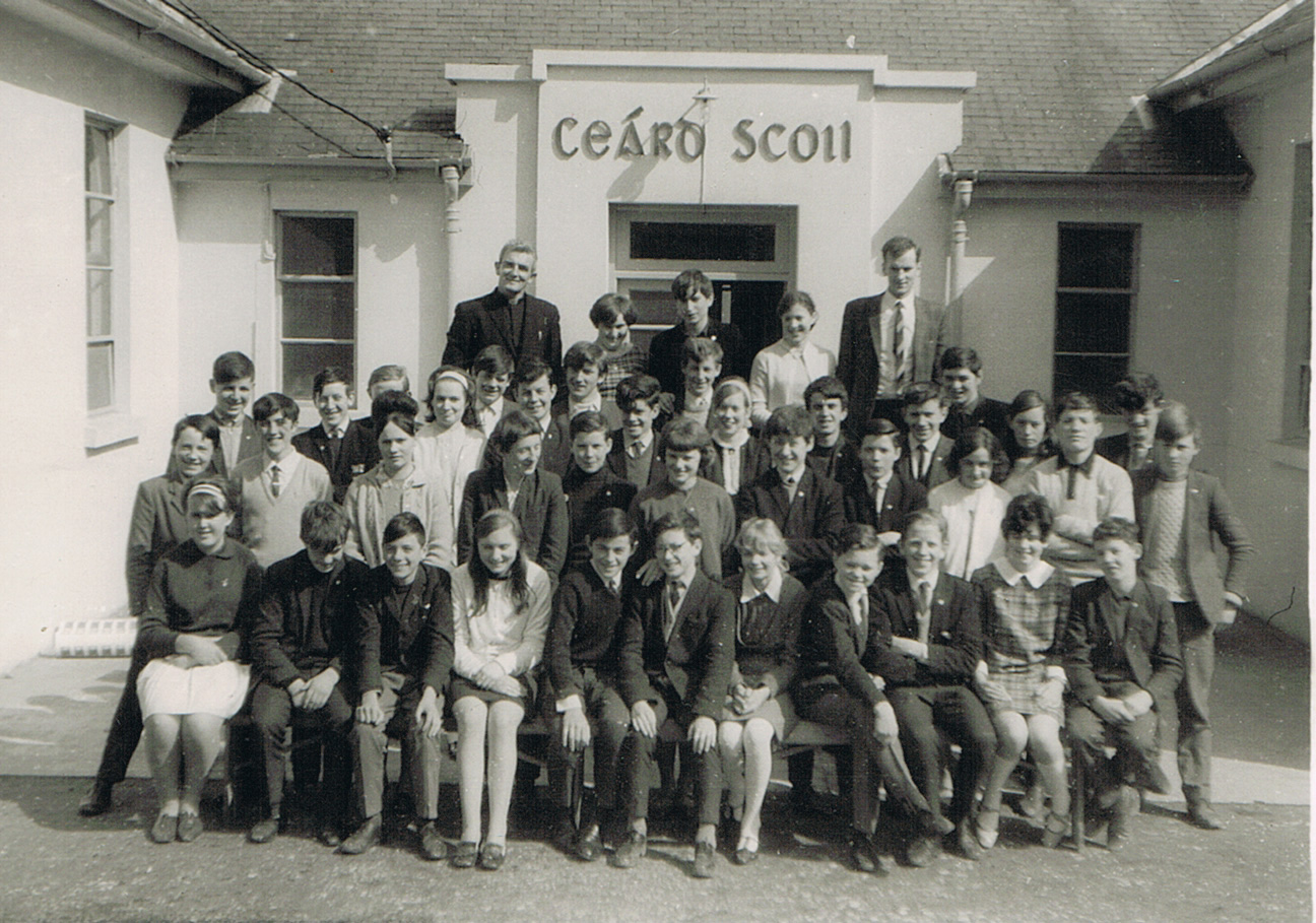 Killenaule Vocational School Group 1969.